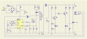 How to handle PCB components layout in designing LED switching power supply?